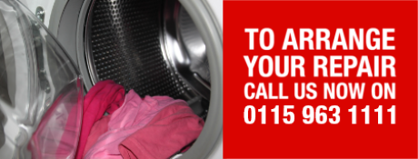 To arrange your appliance repair in Nottinghamshire call us now on 0115 963 4533