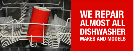We repair almost all makes and models of dishwashers in Nottinghamshire including Bosch, Hotpoint, Creda, Beko, Belling, AEG, Candy, Neff, Electrolux, Indesit