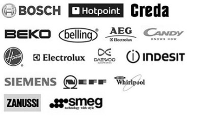 We can repair washing machines including Bosch, Hotpoint, Creda, Beko, Belling, AEG, Candy, Neff, Electrolux, Indesit